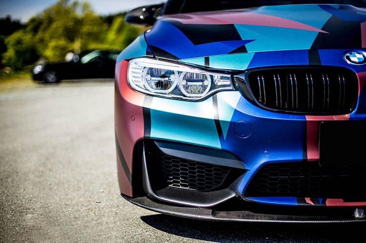 Wrapped BMW