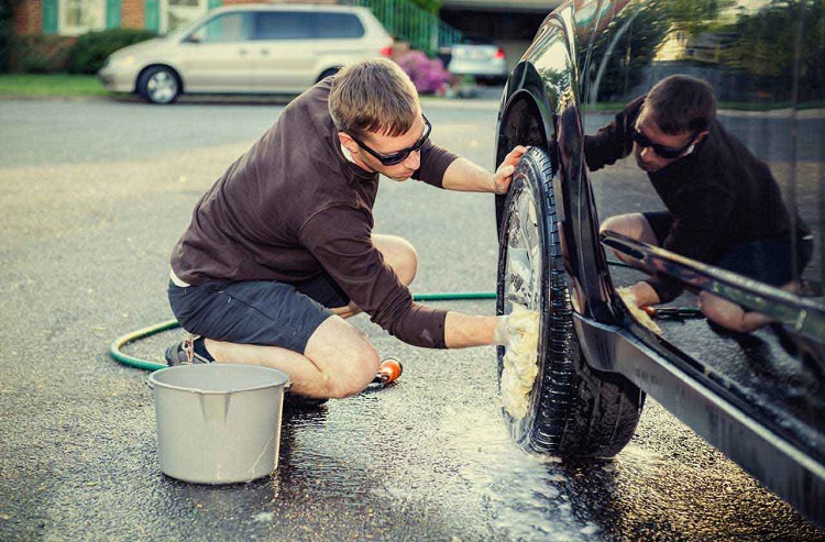 Cleaning Own Car